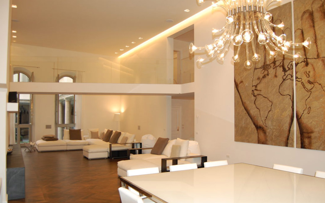 Interior design appartamenti privati for Interior design appartamenti