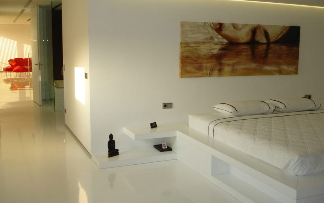 Sala pratonale dell'appartamento ristrutturato a Milano