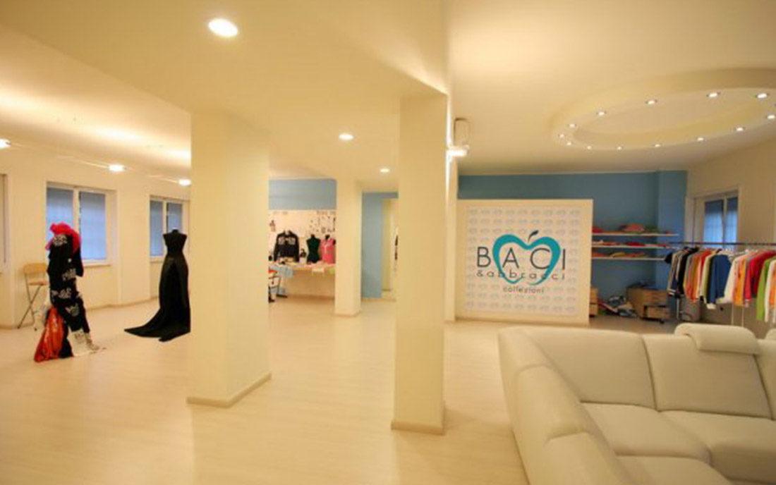 Piano vendita del negozio di abbiagliamento Baci & Abbracci a Milano